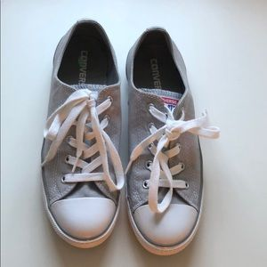 Converse | Gray Sneakers - Size 8 - Like New